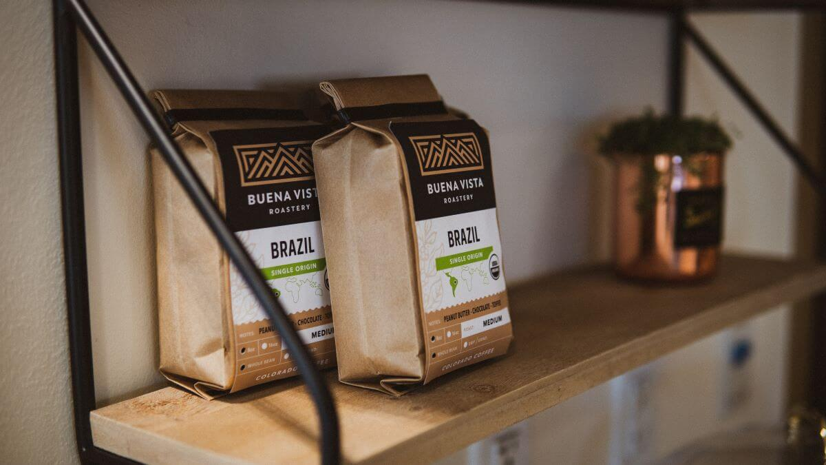 graphic design for coffee company